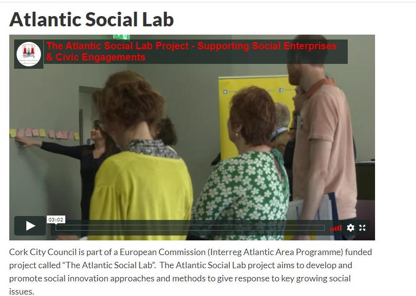 Video recorded by Cork Council for ASL Project Results