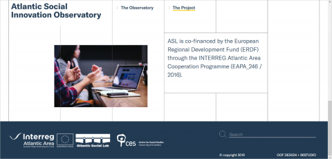 Observatory for Social Innovation in the Atlantic Area is available online!