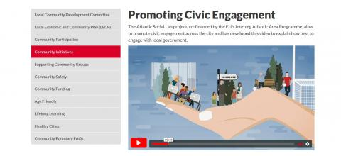 Release of Animation Video Promoting Civic Engagement in Cork (Ireland)
